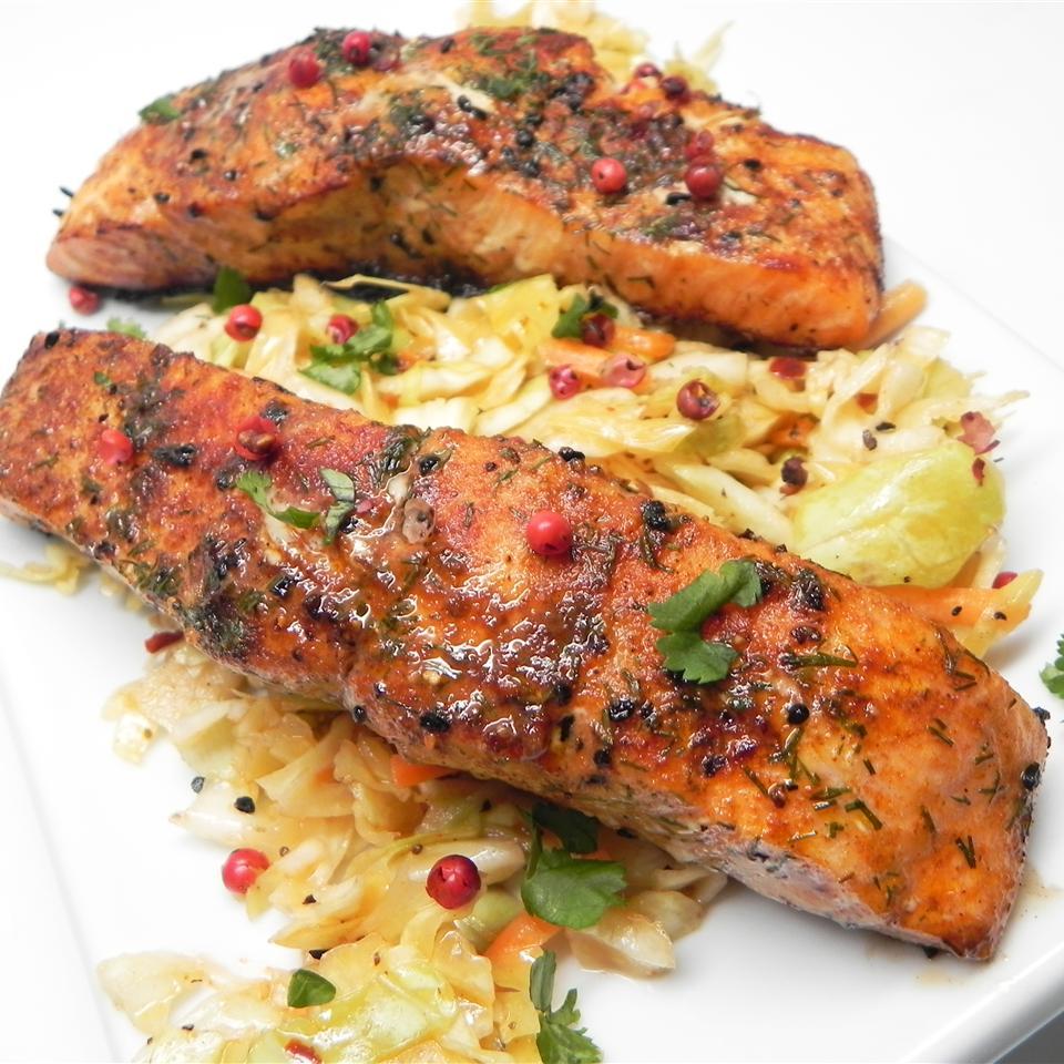 Szechuan Peppercorn Salmon