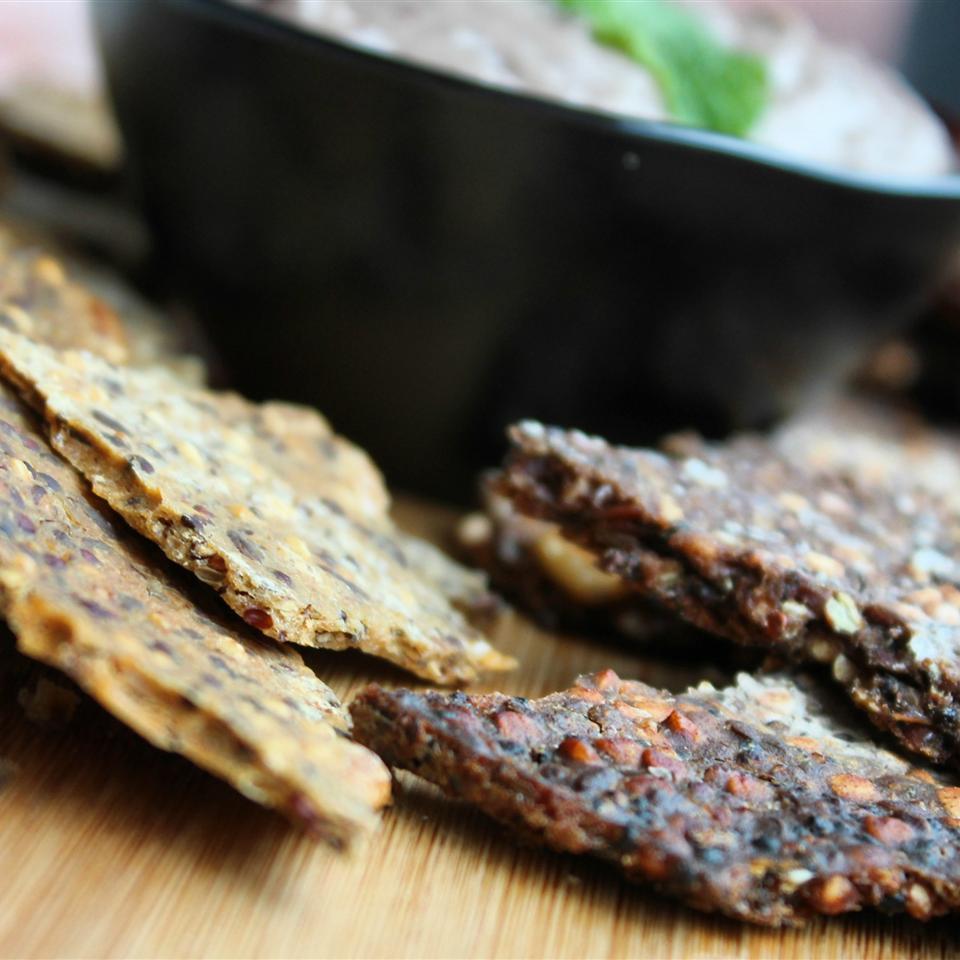 Gluten-Free Teff Crackers