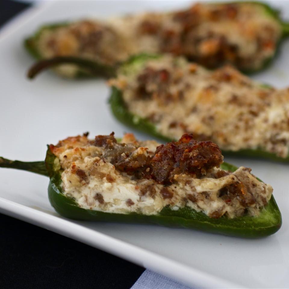 Sausage Stuffed Jalapenos Recipe Allrecipes