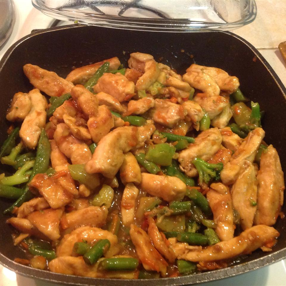 Sweet, Sticky and Spicy Chicken Rosa Estevez