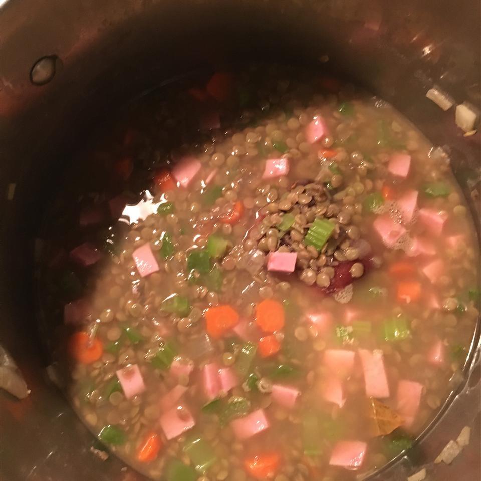 Leslie's Ham Lentil Soup Jessie