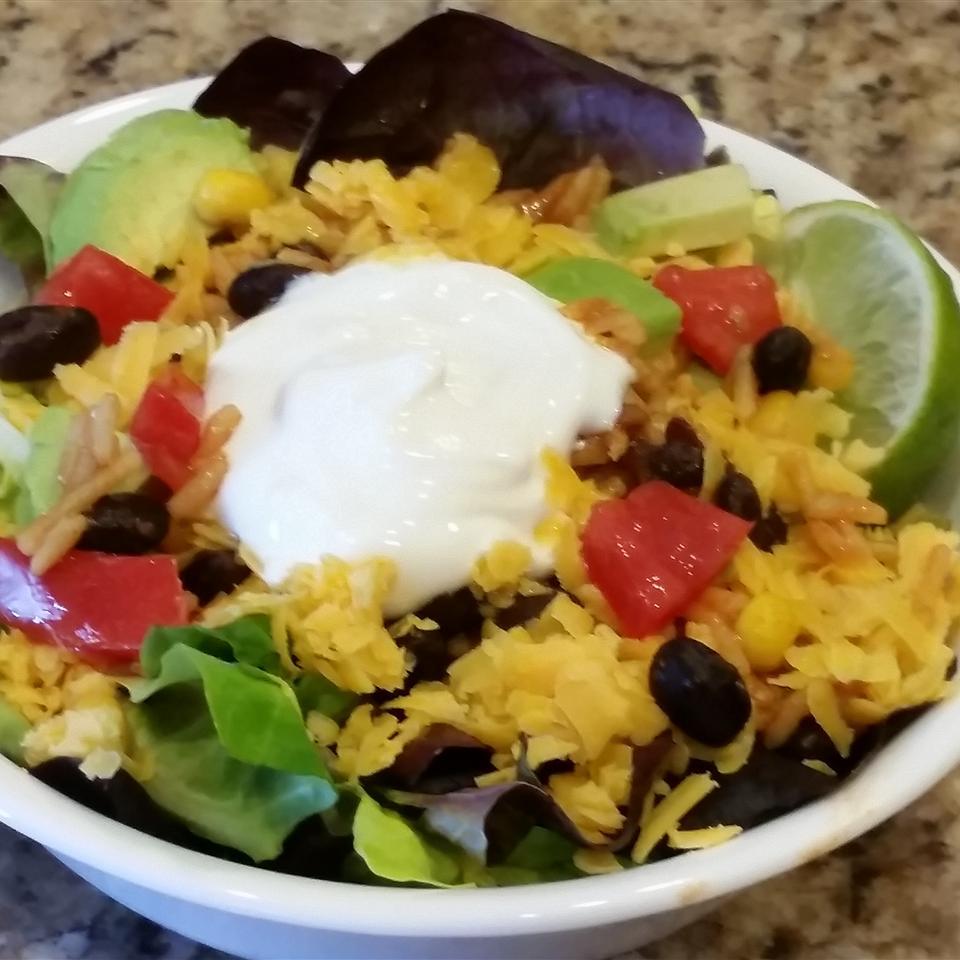 Southwestern Taco Salad Tracey Ferrari Posner