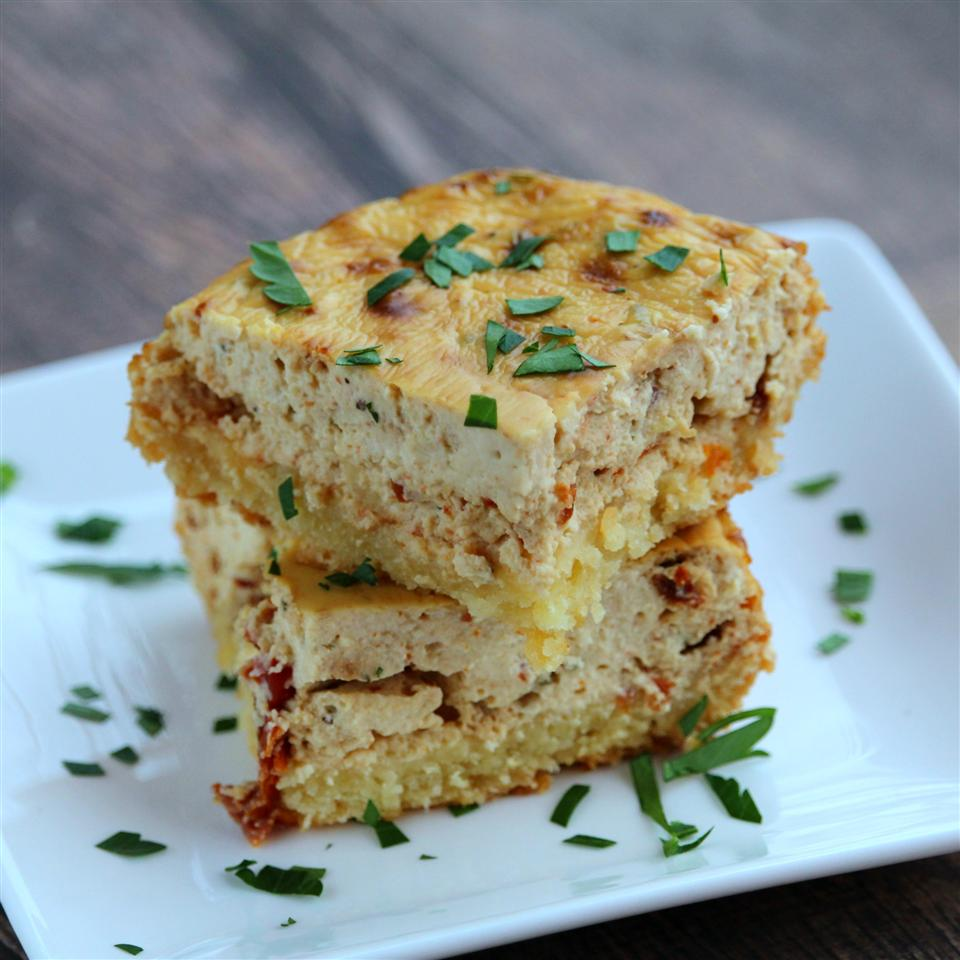 Sun-Dried Tomato Cheesecake Squares Buckwheat Queen