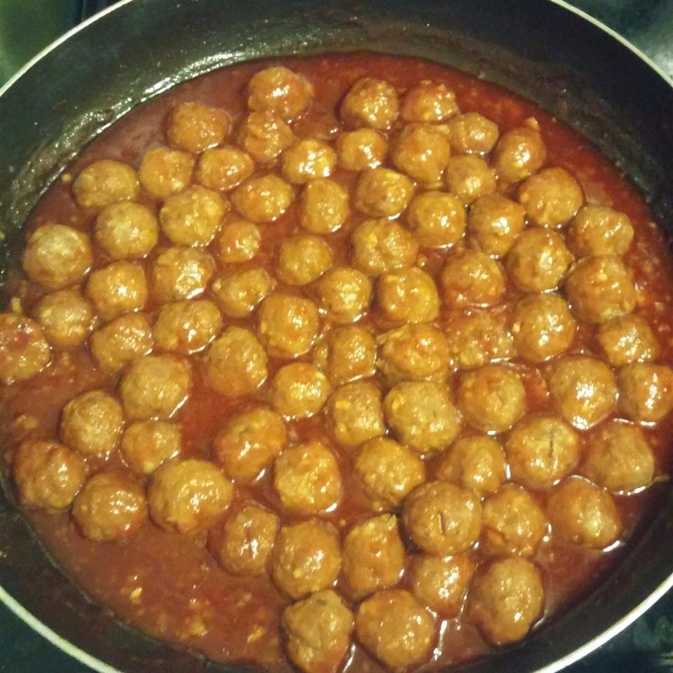 Honey-Garlic Glazed Meatballs