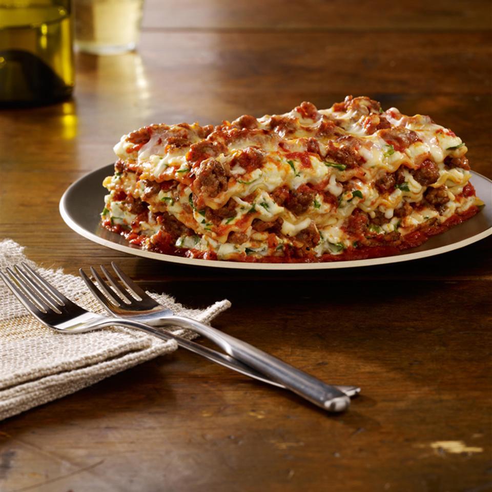 Johnsonville® Italian Sausage Lasagna Trusted Brands