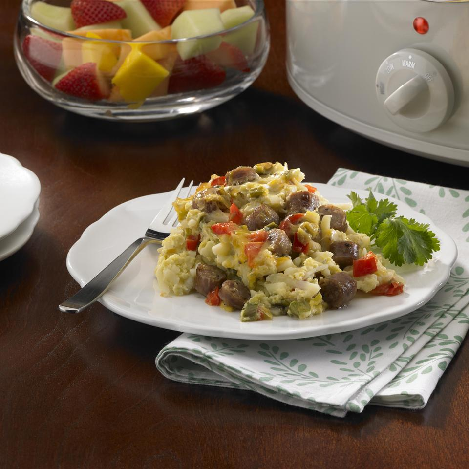Slow Cooker Overnight Breakfast Casserole Allrecipes Trusted Brands