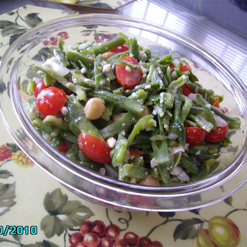 Green Bean Blue Cheese Salad Christina