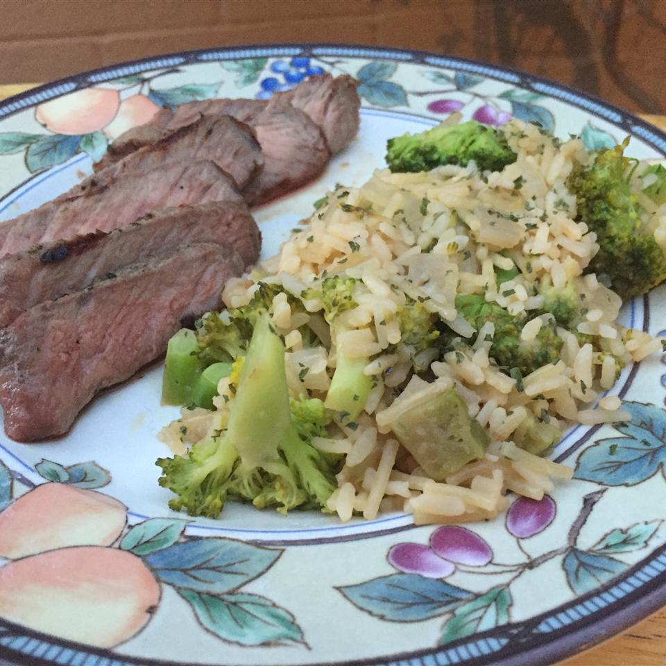 Grilled Steak & Summer Vegetable Rice Arizona Desert Flower