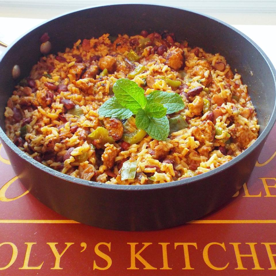 Cajun Sausage and Rice from Knorr® Yoly