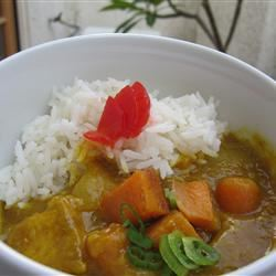 Mild Coconut Chicken Curry with Sweet Potato Emi Goya