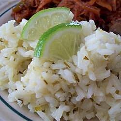 beckys easy cilantro lime rice recipe