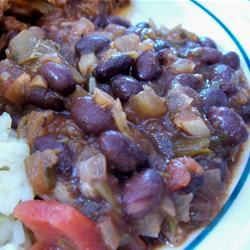 Robin's Sweet and Spicy Black Beans homeschooler3