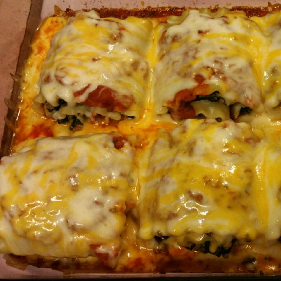 Bab's Turkey Mushroom Lasagna Rolls Cleveland Smith