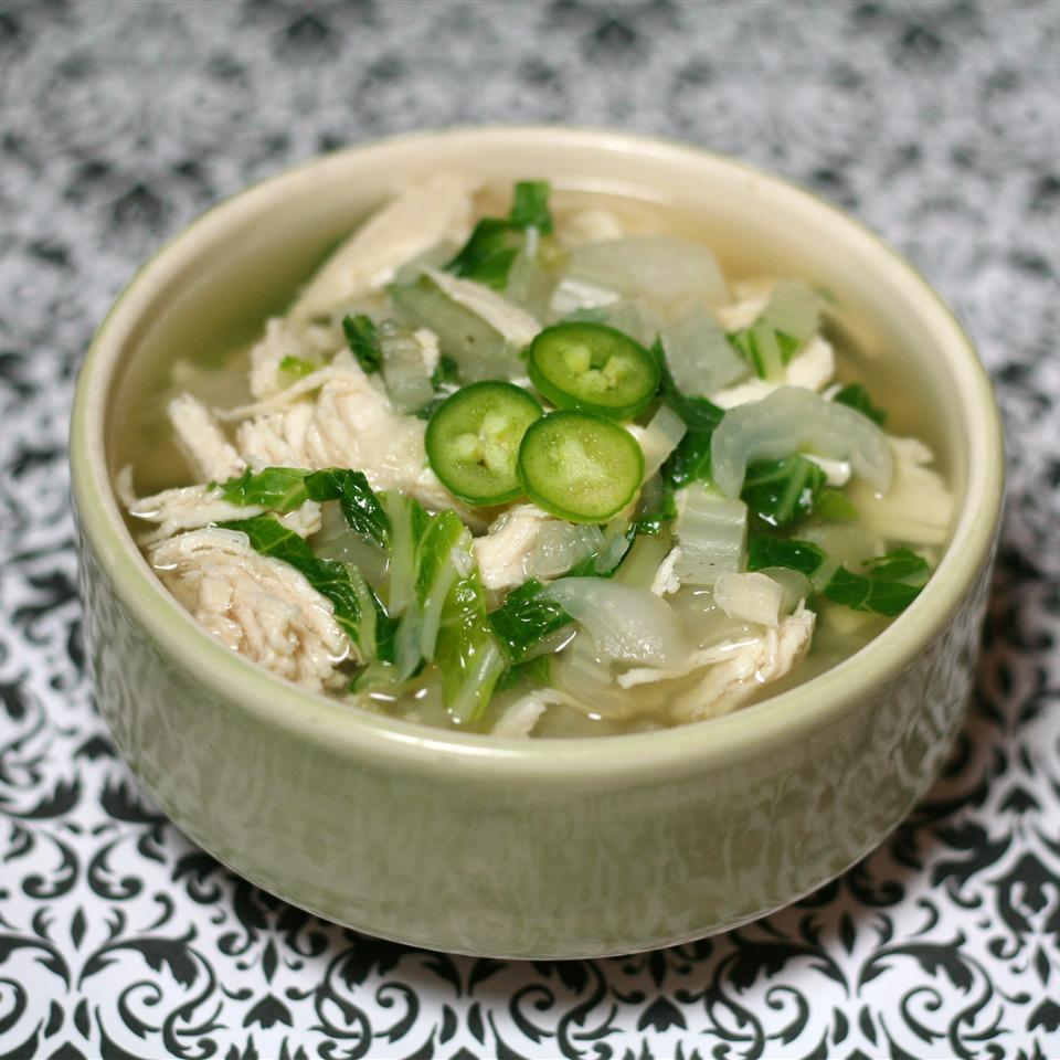 Chicken Bok Choy Soup Alle88