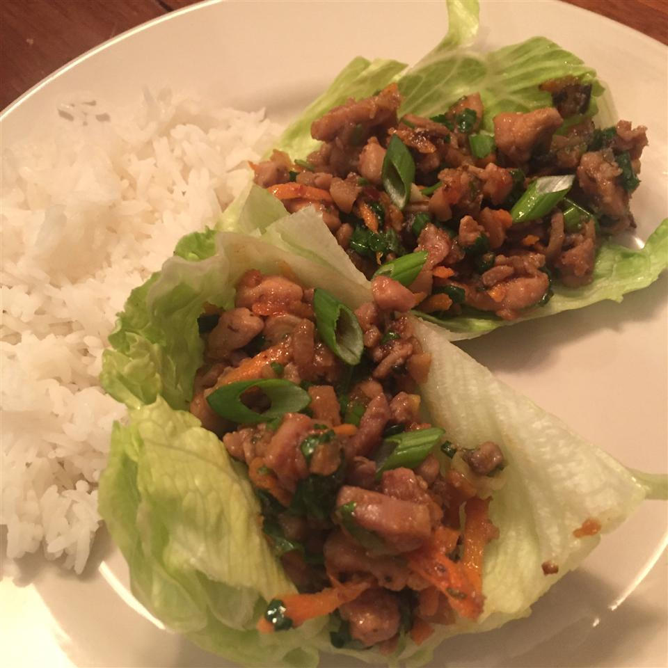 Chef John's Chicken Lettuce Wraps Jennifer G