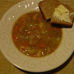 Pork Chop Soup