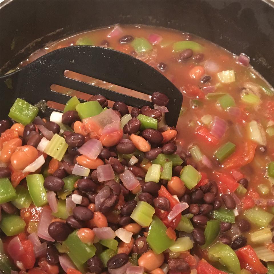 Easy Vegan Black Bean Soup Skinny