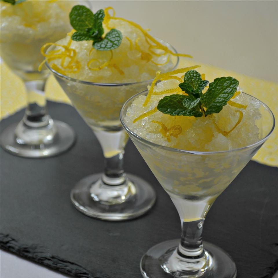 Tart Meyer Lemon Sorbet