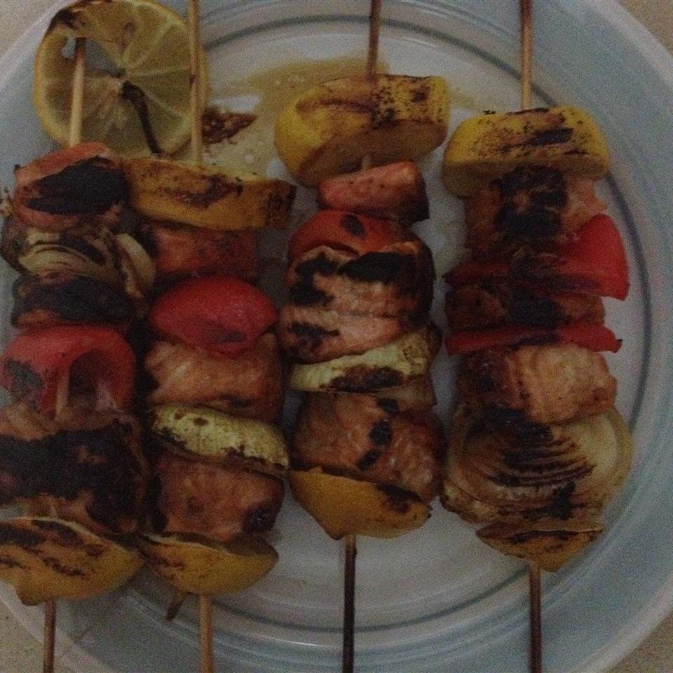 Grilled Salmon Skewers grace4321