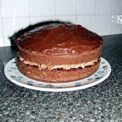 One Bowl Chocolate Cake II rachiexx