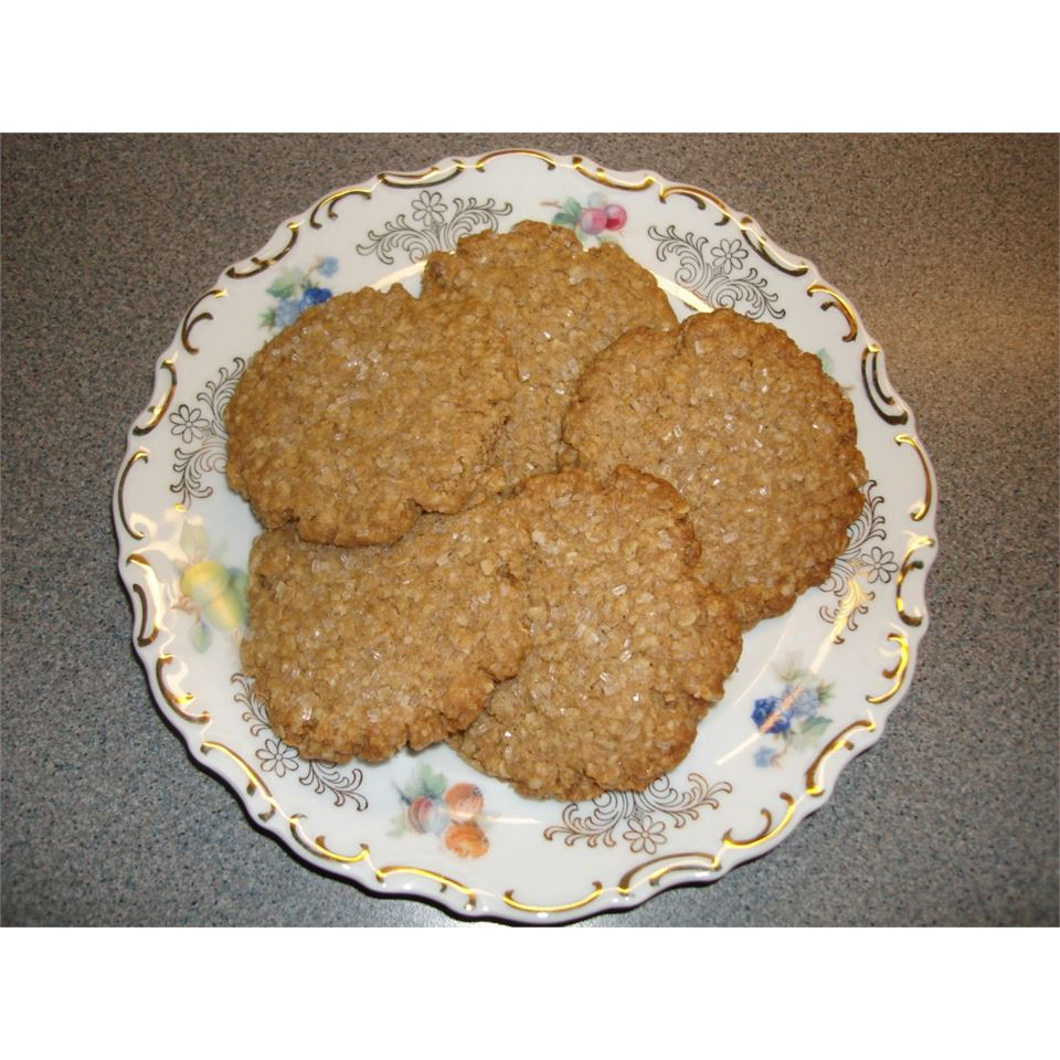 Margie's Shortbread Oatmeal Cookies Jan Bull