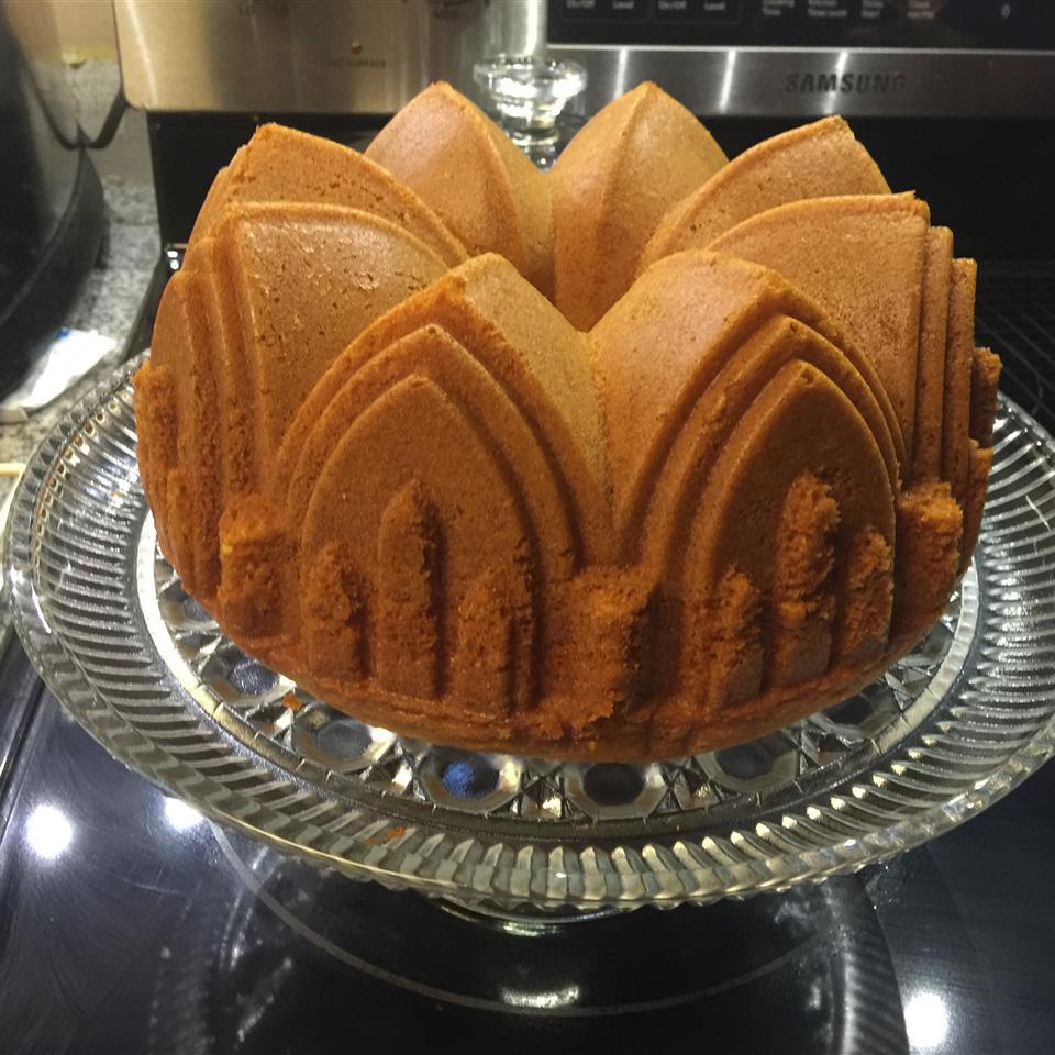 Lemon Pound Cake II