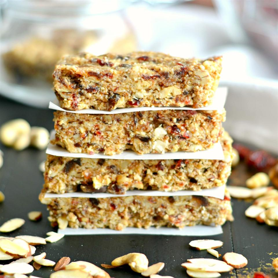 Grain-Free Date and Nut Bars