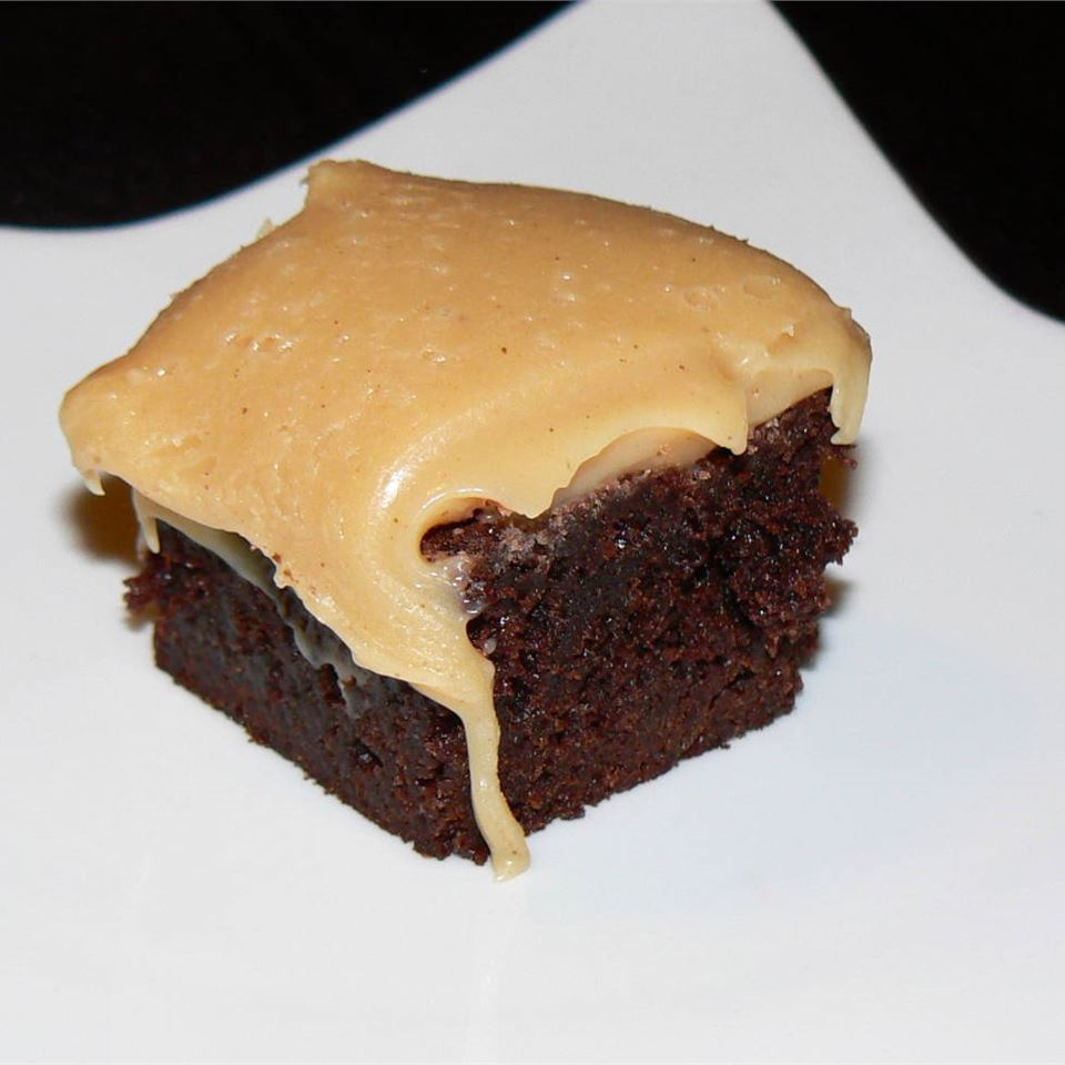 Brownies with Peanut Butter Fudge Frosting Michelle