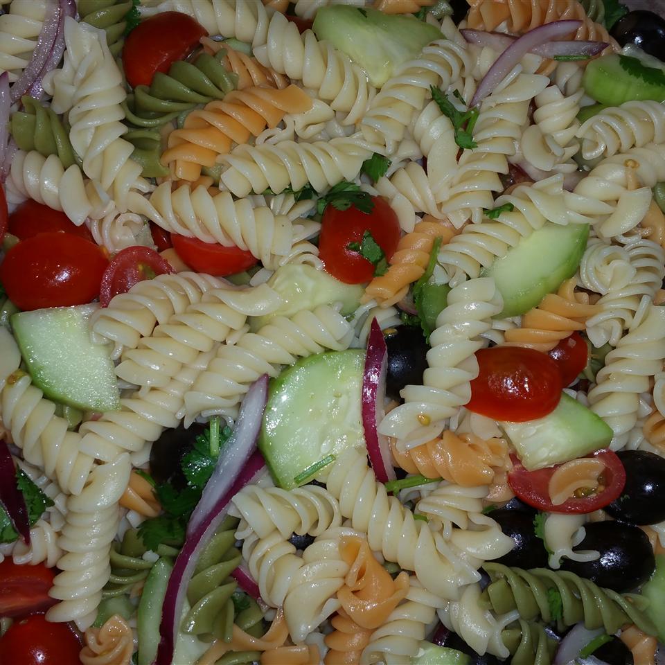 Easy Cold Pasta Salad Lianala