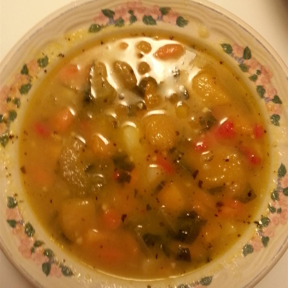 Butternut Vegetable Soup Mia DiMartini-Colon