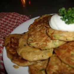 Zucchini Patties CookieMonster