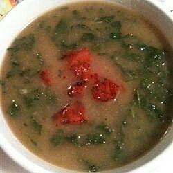 keto caldo verde with chorizo recipe
