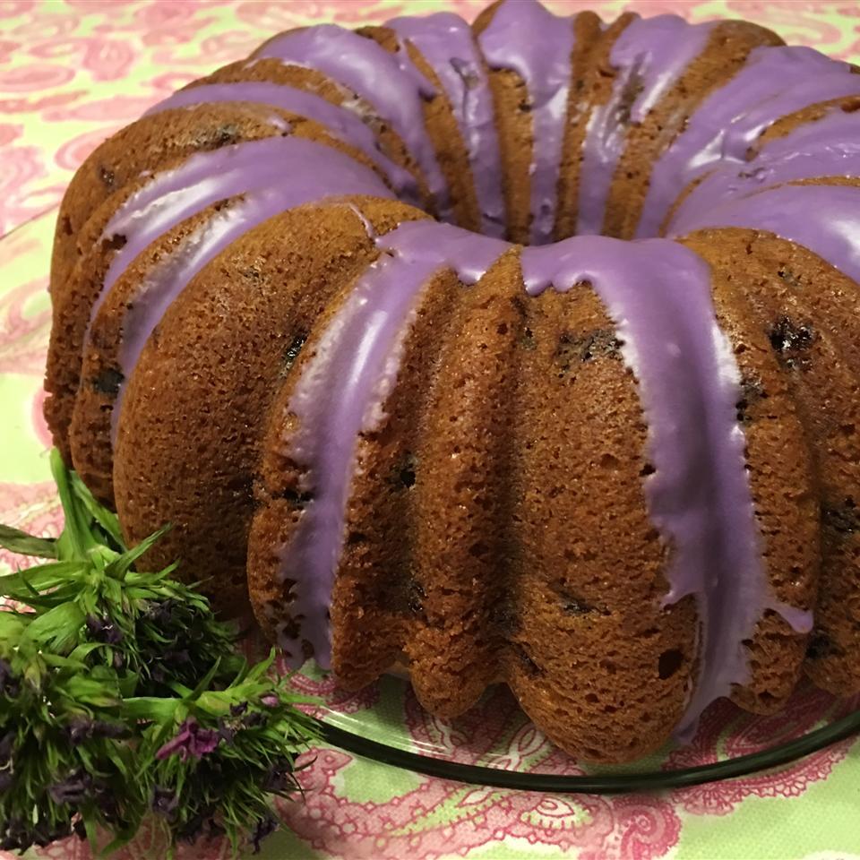 Blueberry Cream Cheese Pound Cake II