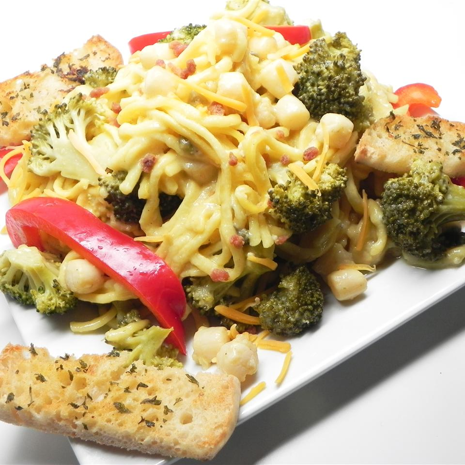 Scallop Stir-Fry with Noodles