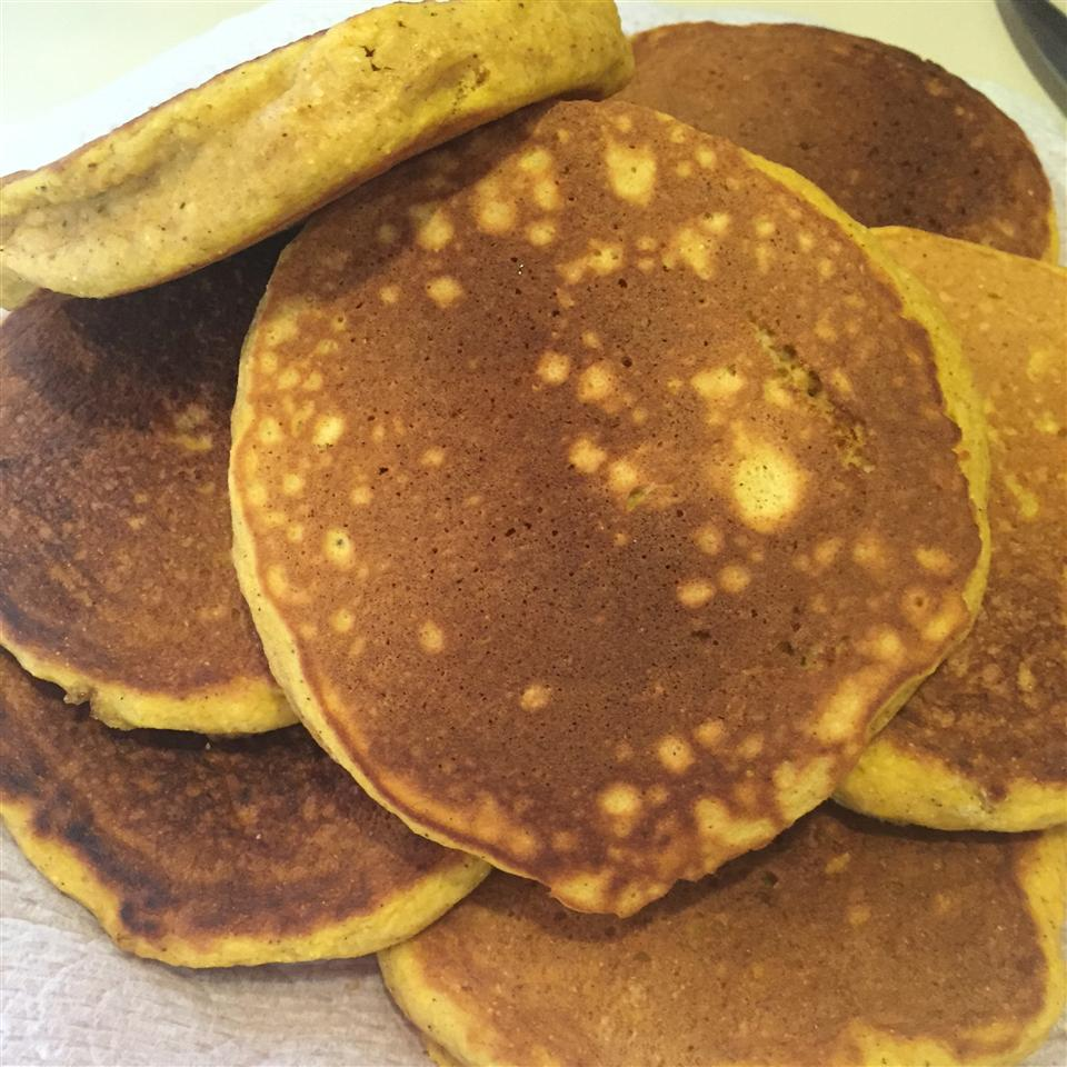 Pumpkin Cornmeal Pancakes