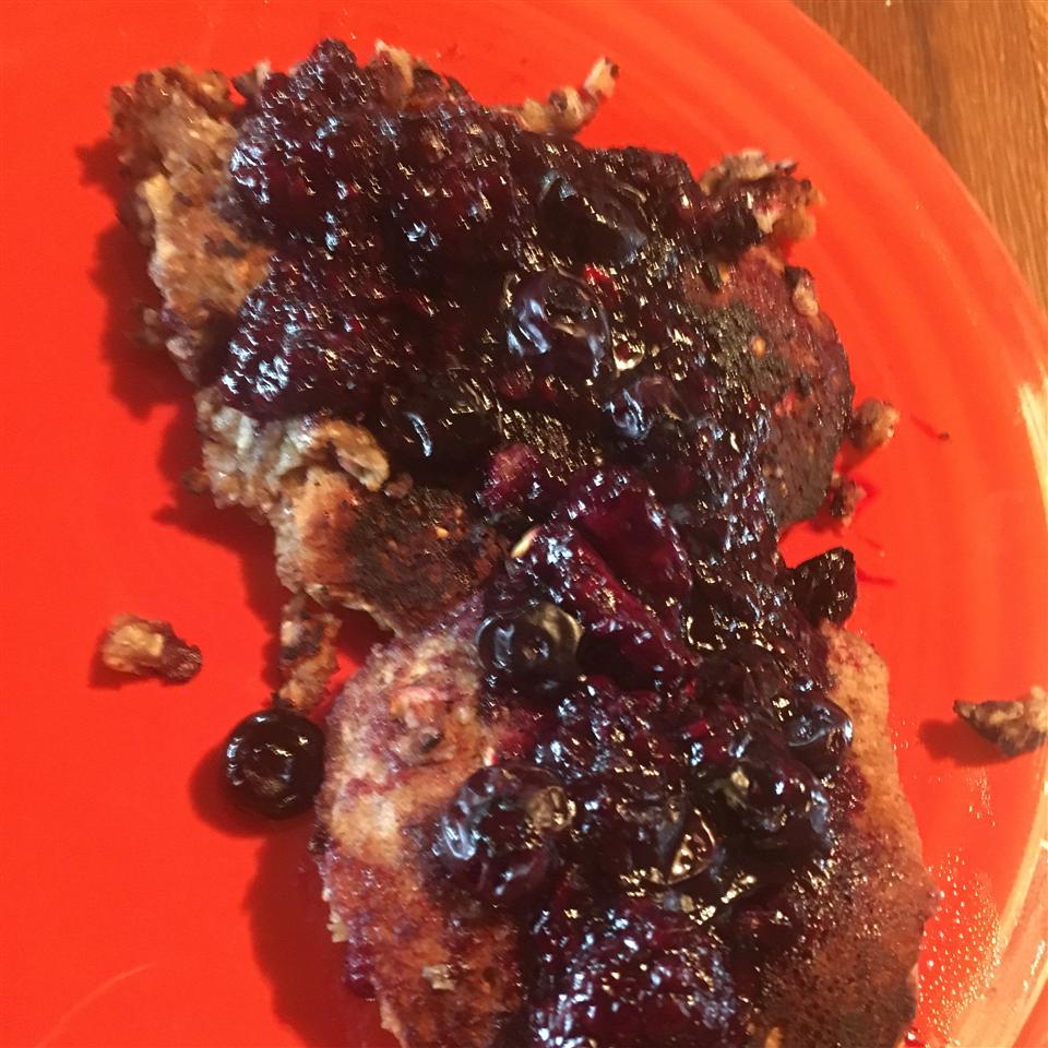 Flourless Oatmeal Blueberry Pancakes Tori Sorensen