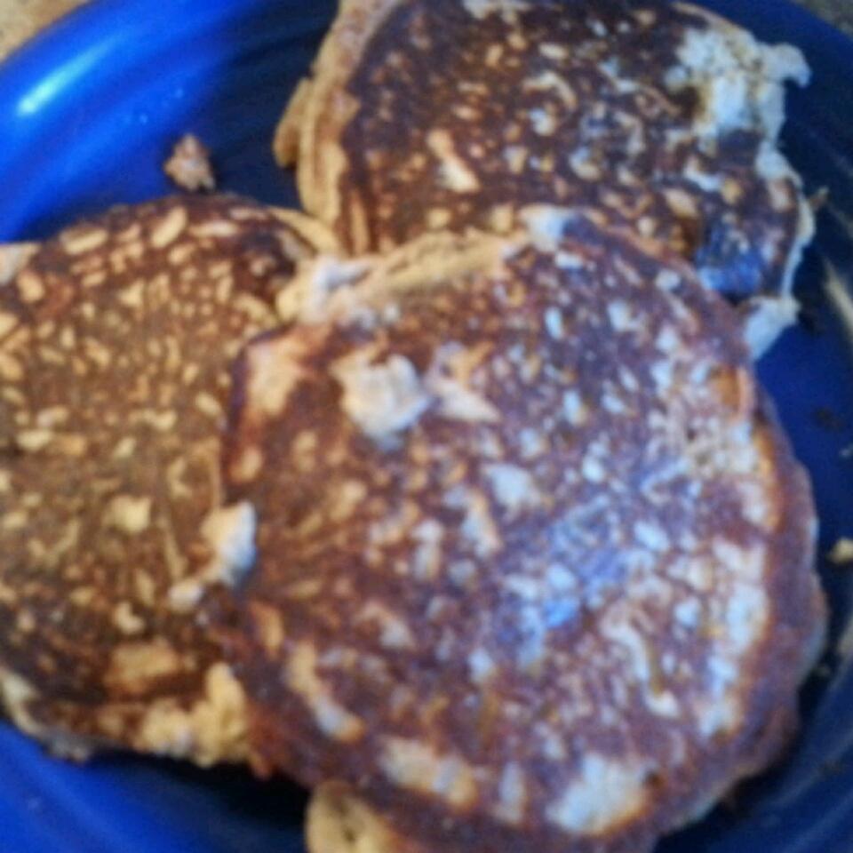 Apple Cinnamon Coconut Flour Pancakes