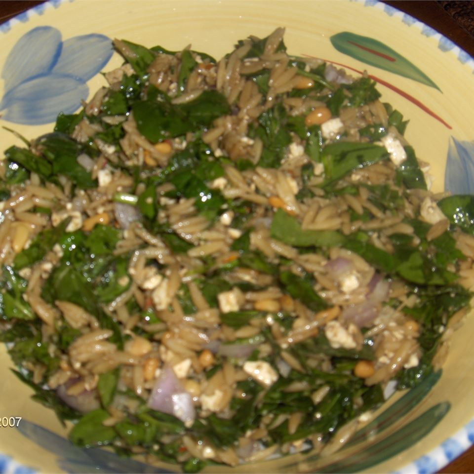 Spinach and Orzo Salad Christine R.