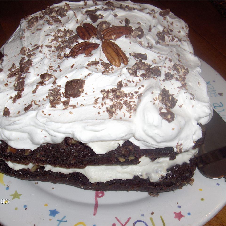 Chocolate Praline Layer Cake Christine R.