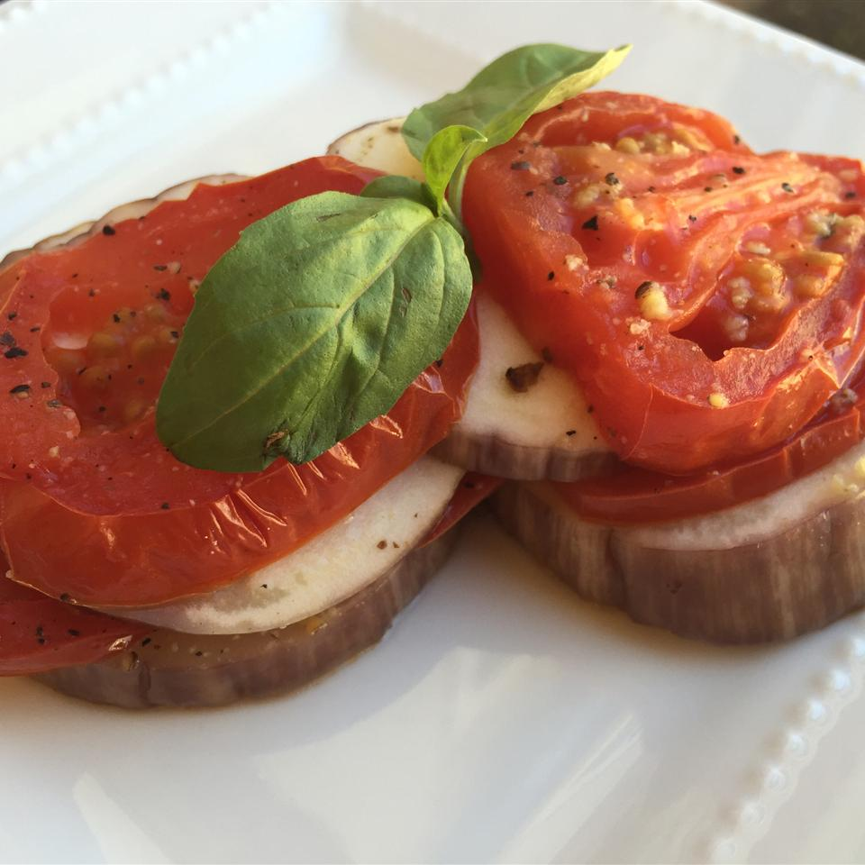 Eggplant and Tomato Packets