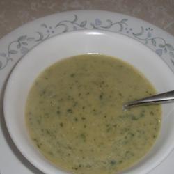 Poblano Chile Pepper Soup Sarah Keller