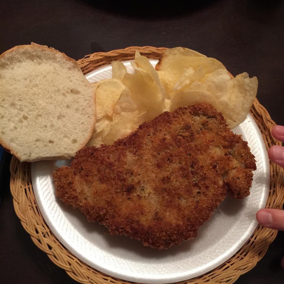 Traditional Indiana Breaded Tenderloin Sandwich Jen McIntyre