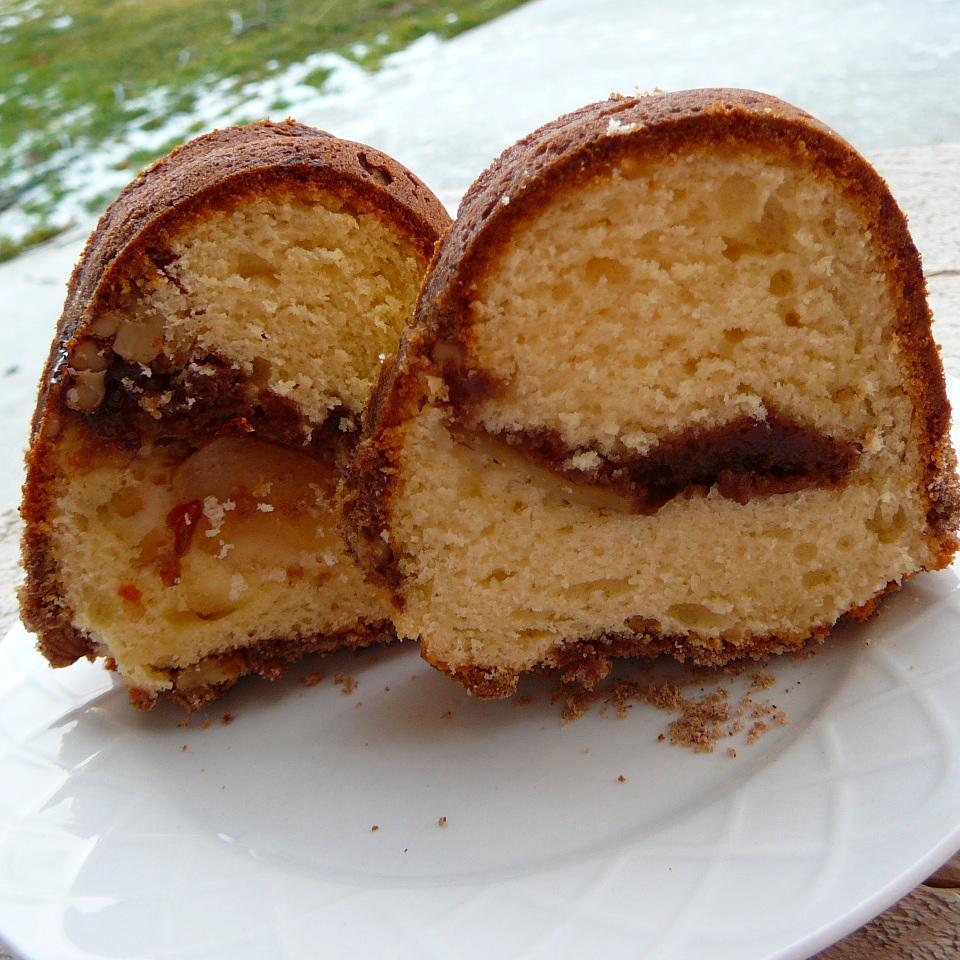 Apple Sour Cream Streusel Cake Carol