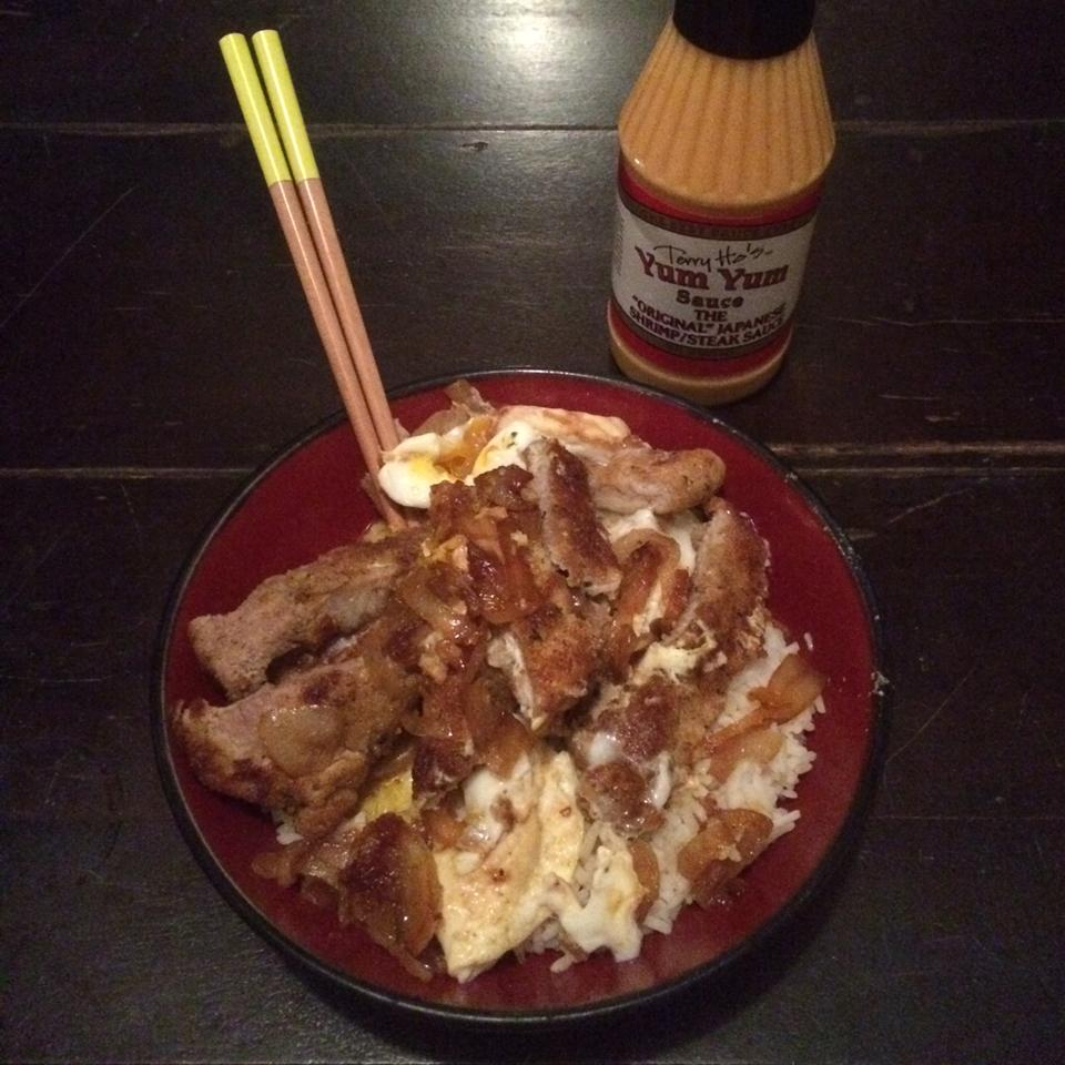 Japanese-Style Crispy Fried Pork Bowl (Tonkatsu Donburi) Michael Feinberg