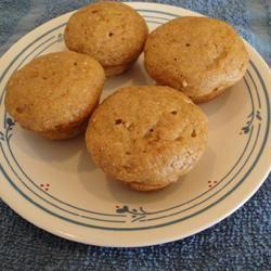Kim's Virtuous Mini Pumpkin Muffins