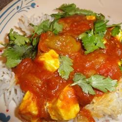 Paneer Jalfrazie Lady at the Stove