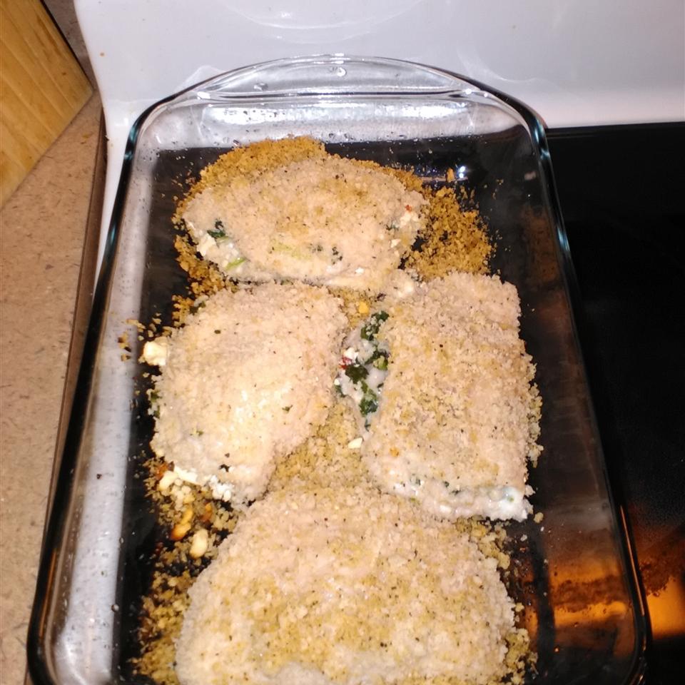 Feta Chicken Jaleesa Gangone