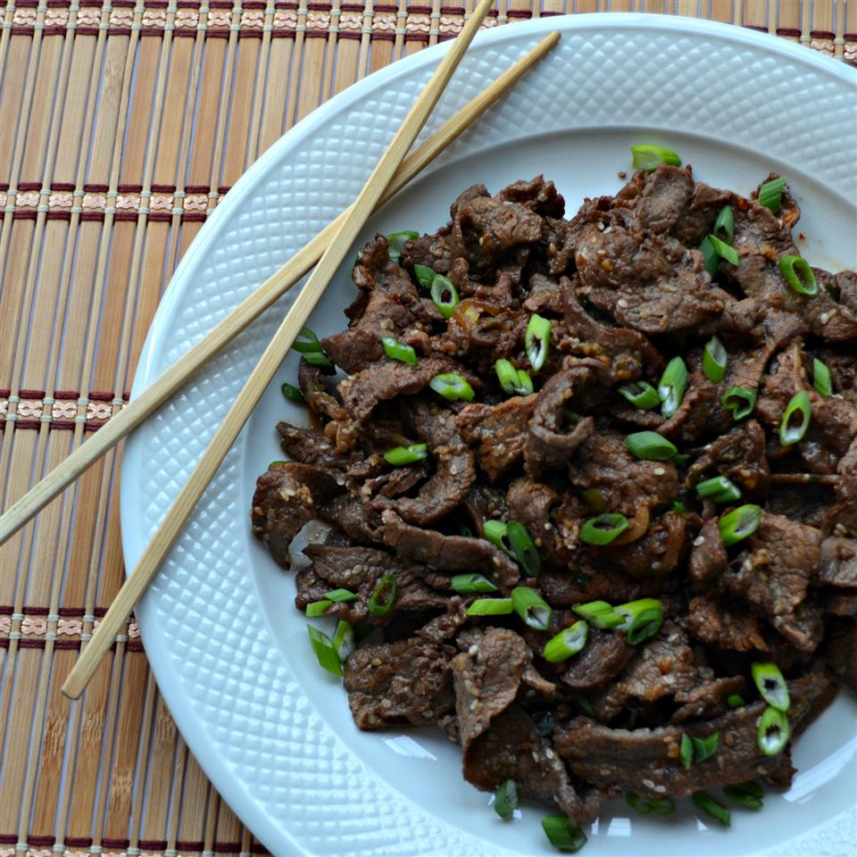 Easy Bulgogi (Korean BBQ Beef)