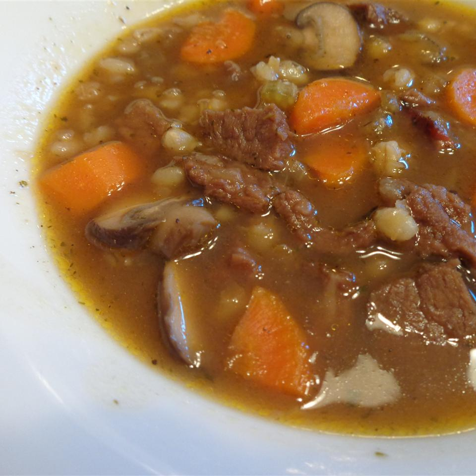 Beef and Barley Soup III