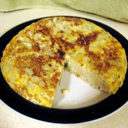 Tortilla de Patata (Spanish Tortilla) MONICA SELF